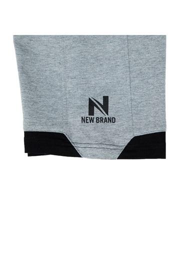 New Brand Şort Gri